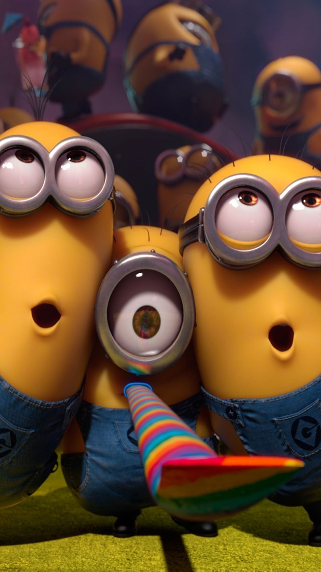 cute and funny minion iphone 6 wallpaper
