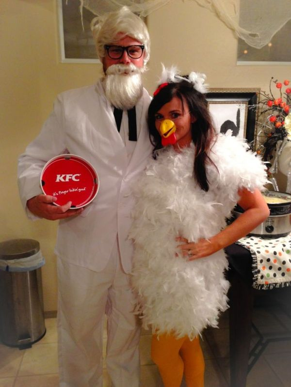 kentucky fried chicken funny couple costume