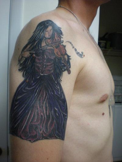 new gothic tattoo