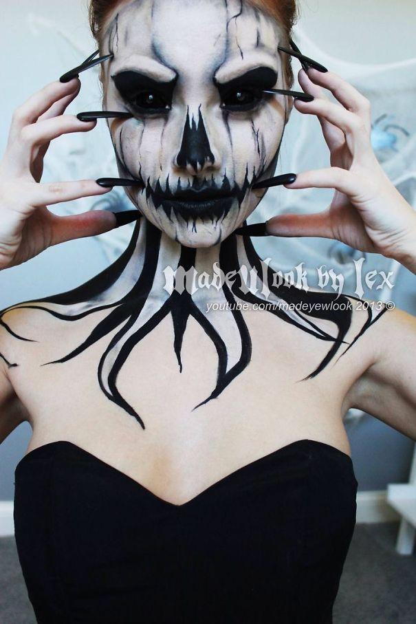 Girl Halloween Costumes Scary