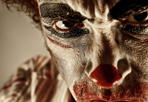 see no evil clown