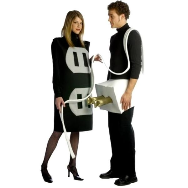 simple funny couple halloween costume
