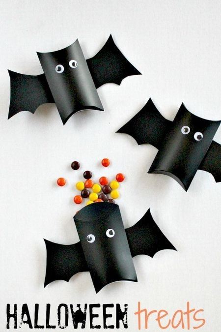 trick or treak door craft idea for kids