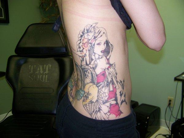 vamp tattoo
