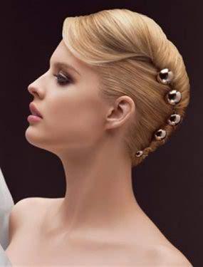 10 Beautiful Wedding Hairdos For Short Hair Entertainmentmesh