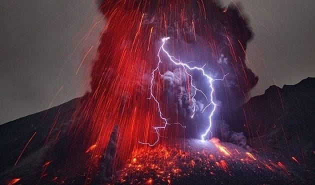 Dirty Thunderstorms As Volcanic Lightening