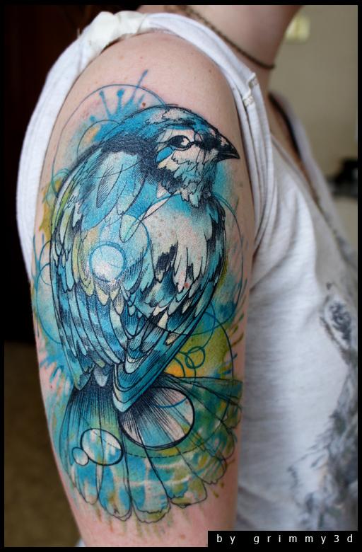 35 Elegant Bird Tattoo Design Ideas   EntertainmentMesh