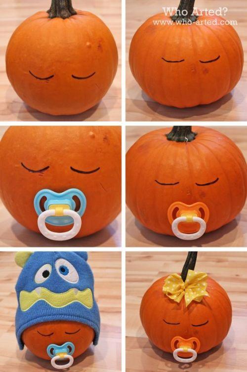 cute-baby-pumpkins-decoration-ideas