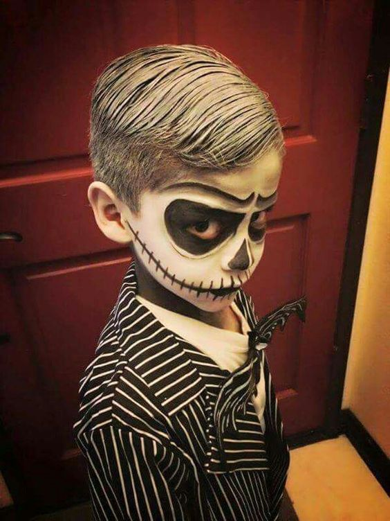 24 best ideas to paint kids faces on halloween day