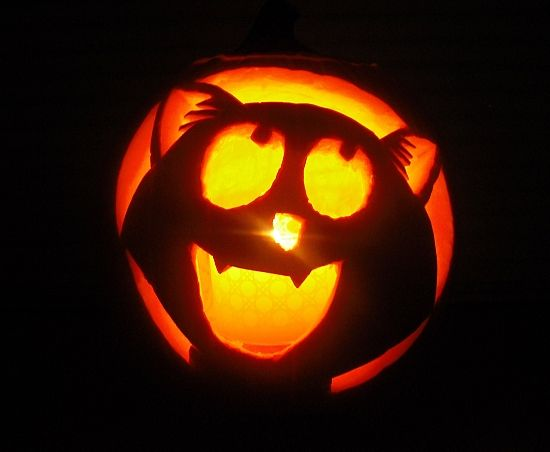 30+ Happy Pumpkin Faces Carving Patterns, Designs & Decoration ...