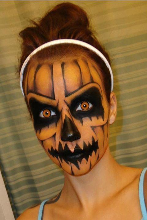 25 Evil Scary Halloween Face Paint Ideas For Women