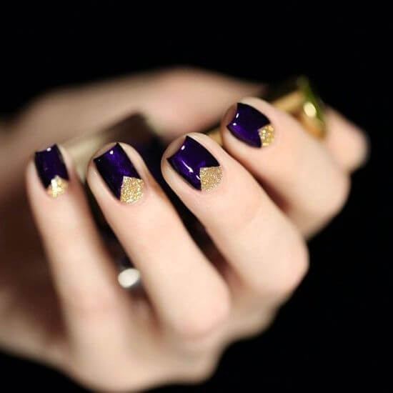 4-purple-and-gold-nail-design