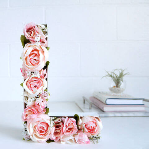 Romantic diy valentines day decor ideas for home entertainmentmesh 6 blossom love letters mightylinksfo