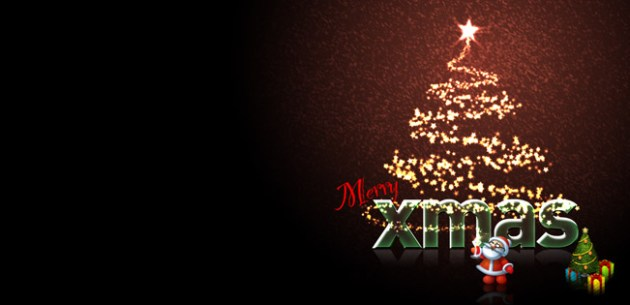 Merry Xmas Facebook Cover Photo