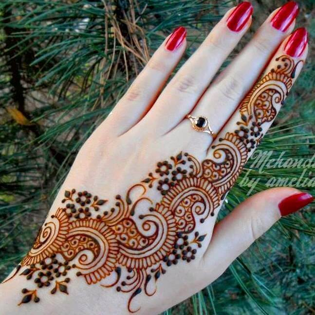 New beautiful hand henna mehndi design ideas for 2017 mehndi bail design hand photo credit pinterest thecheapjerseys Image collections