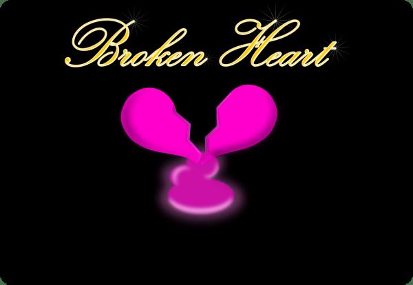 broken heart background