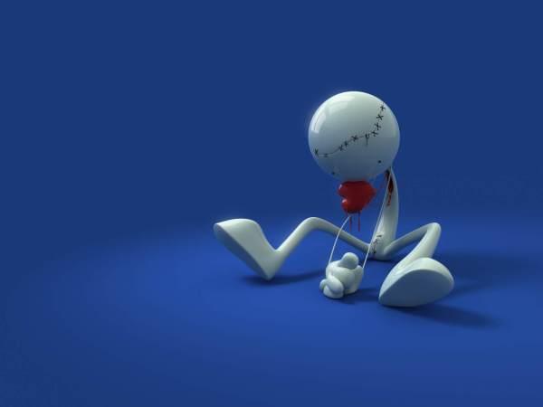 broken heart-sad feeling of love