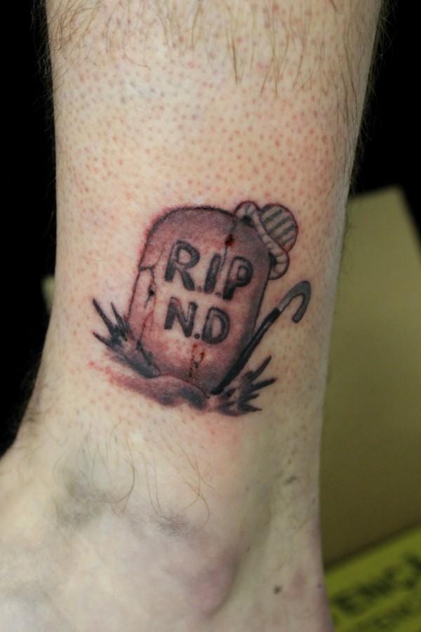 Grave Tattoo R.I.P