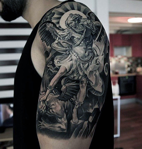 Tattoo Woman Demonic: 20+ Great Devil And Angel Tattoo Designs