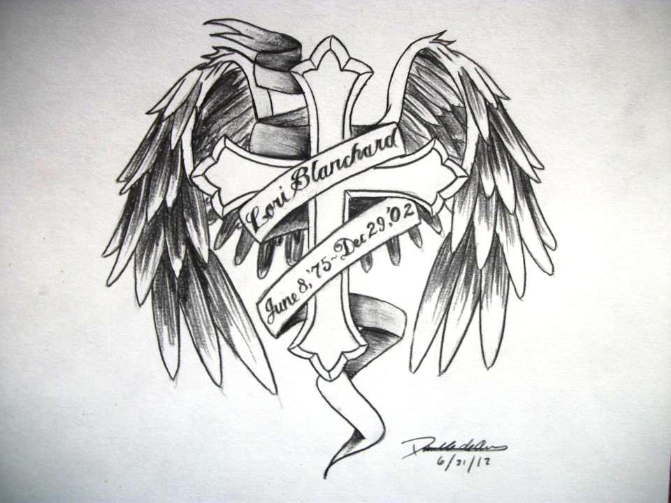 20 Rip Angel Tattoos Men Ideas And Designs