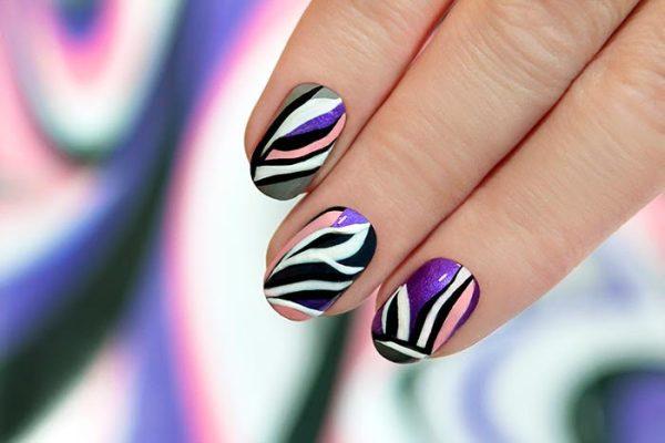Wavy Manicure
