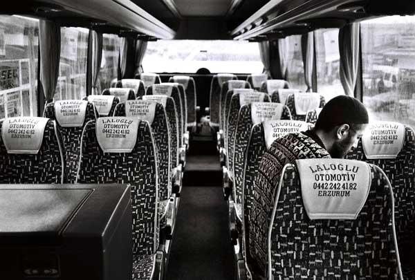 namaz in bus