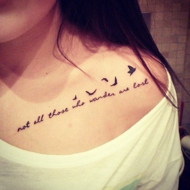 Amazing-quote-collar-bone-tattoo