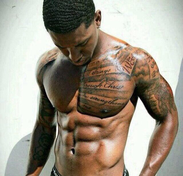 black men chest arm tattoo entertainmentmesh. Black Bedroom Furniture Sets. Home Design Ideas