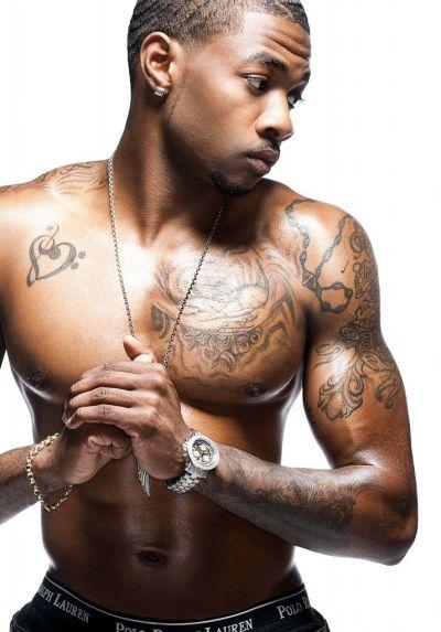 black men tattoo