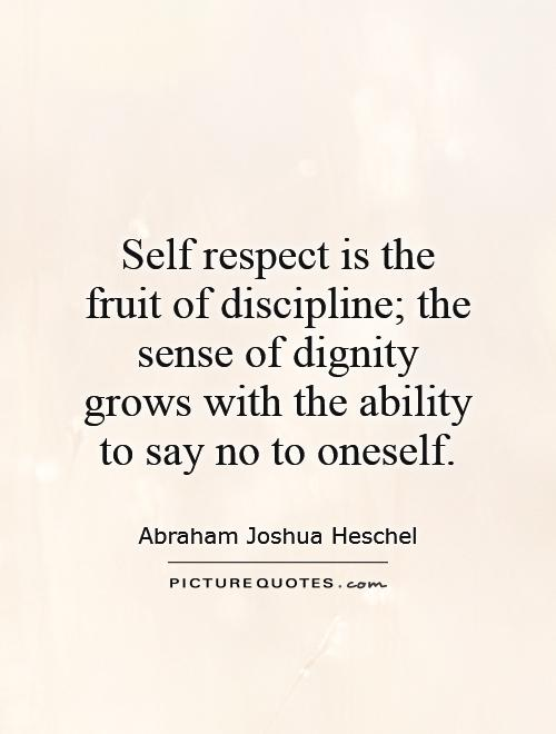 Self Respect Quote Images