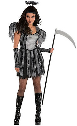 sexy scary halloween costumes for women-make up