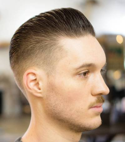 4-Slicked Back Hairstyles 2017 for men