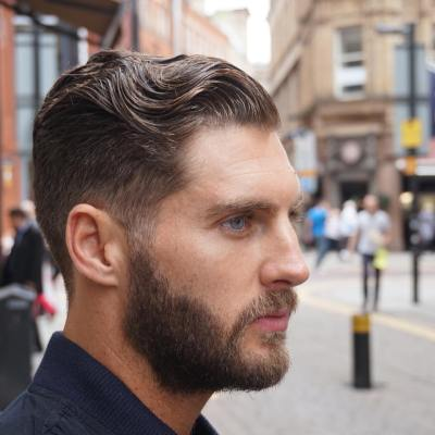 5-Slicked Back Hairstyles For Men