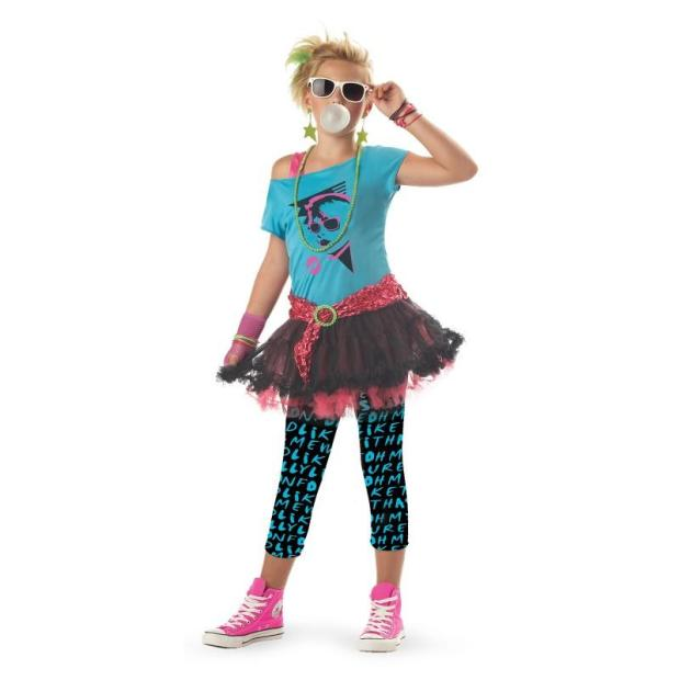 80s Valley Girl costume