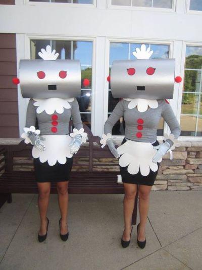 the robot creative halloween costume idea pinterest