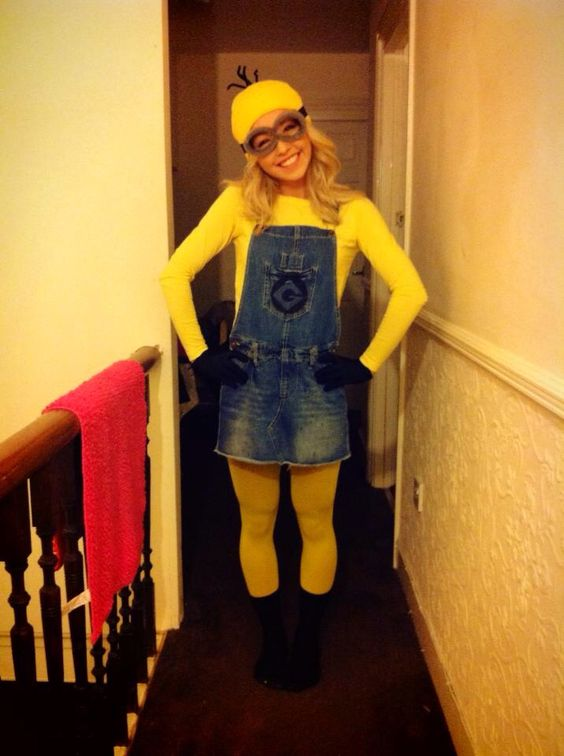DIY Despicable Me Minion Halloween Fancy Dress