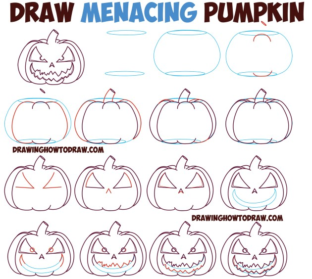 Menacing Pumpkin Tutorial