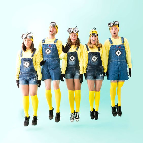 Minion squad Halloween costume