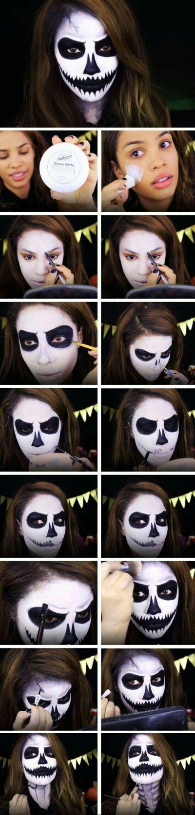 No costume coolest face paint