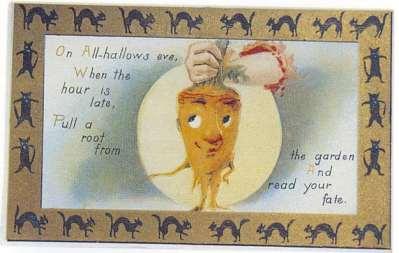 funny vintage halloween postcards