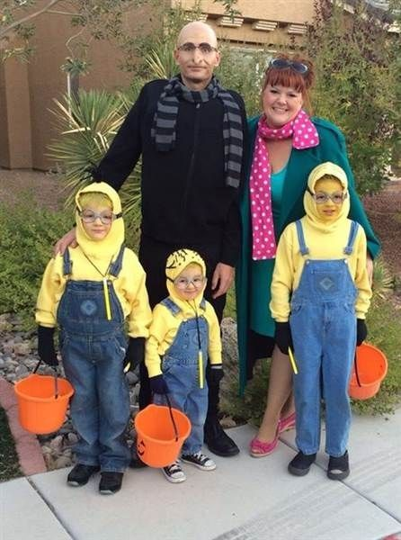 perfect Halloween family costume ideas
