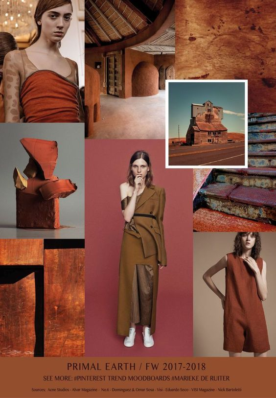 fall winter 2017-2018 colors trends patterns - Primal Earth