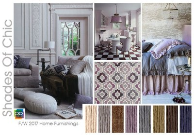 fall winter 2017-2018 colors trends patterns - Shades Of Chic