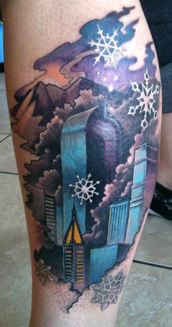 cold winter tattoo