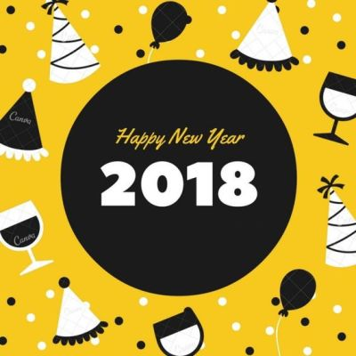 happy new year 2018 day picture background
