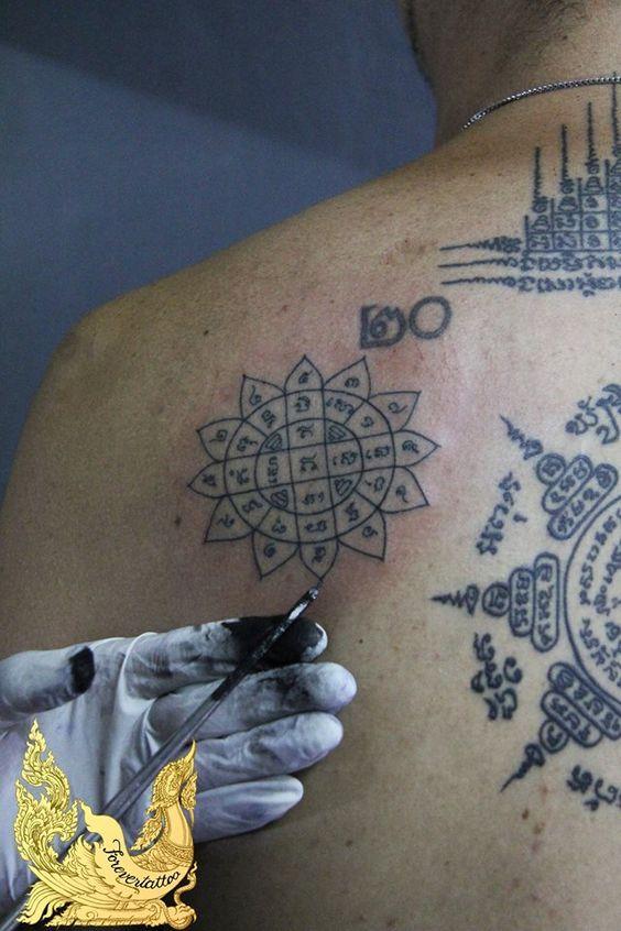 yord mongkut sak tattoo