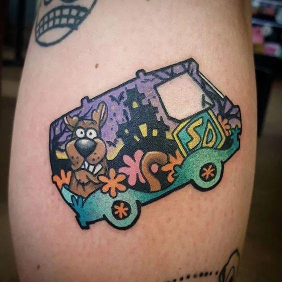 Scooby-doo Tattoo