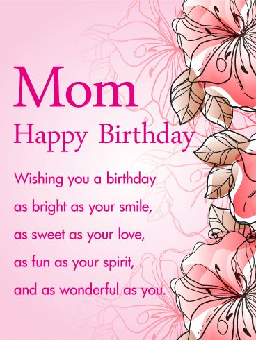 mom happy birthday