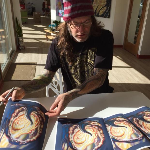 Guy Aitchison tattoo artist