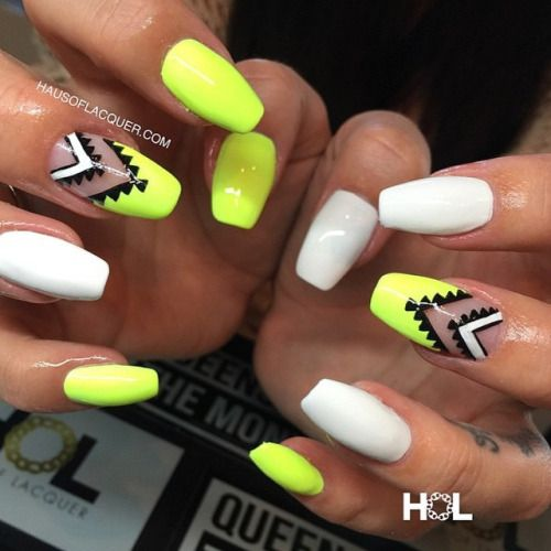 4 Wonderful Designs Of Tribal Nail Art Entertainmentmesh